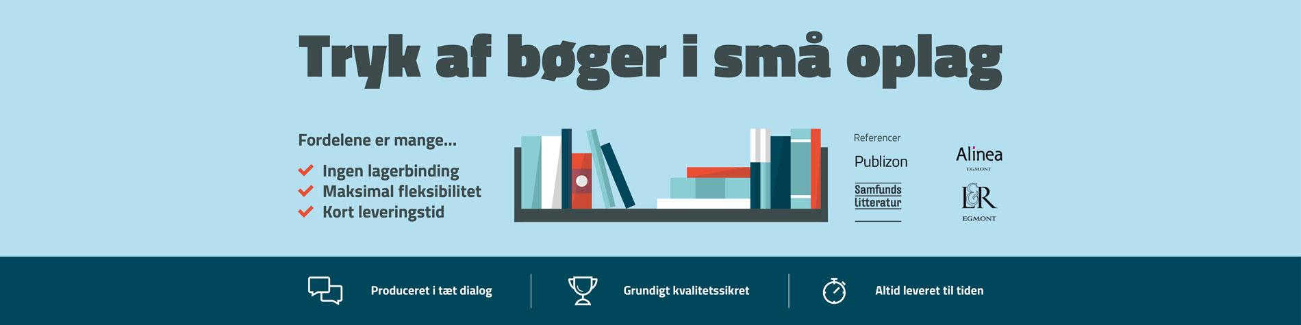 Tryk bøger
